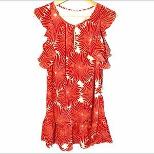 J. Crew Floral Flutter flower dress- size XXS